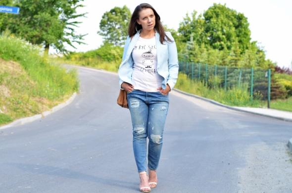 Blogerek Błękitna marynarka
