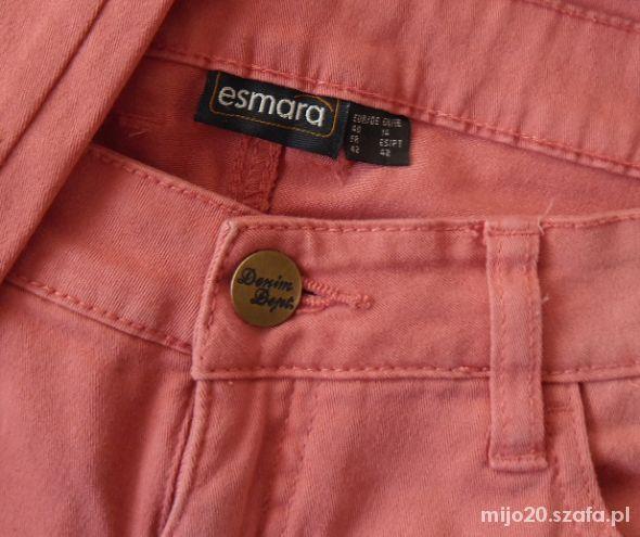 Nowe rurki 40 42 L XL różowe spodnie tregginsy