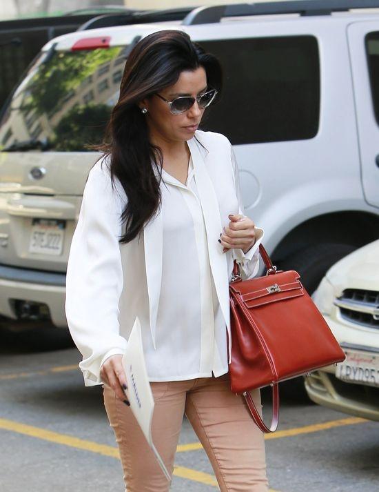 Eleganckie Elegancka stylizacja w ciąży
