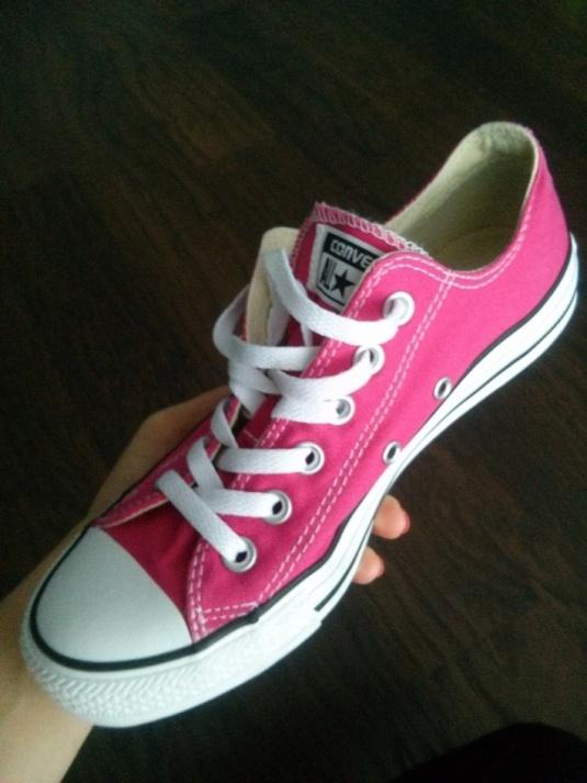 Converse All Star kolor fuksja róż
