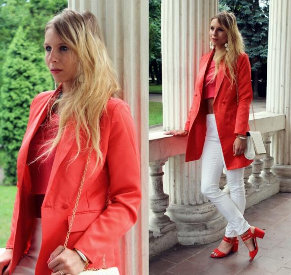 Blogerek Czerwone sandały
