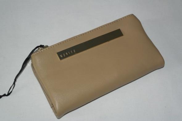 79e182e709ec1 nowy Mohito portfel jasny brąz złote zamki pojemny w Portfele - Szafa.pl