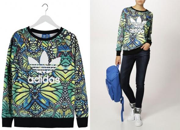 Kolorowa bluza Adidas Originals w Bluzy Szafa.pl