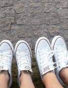 Converse białe