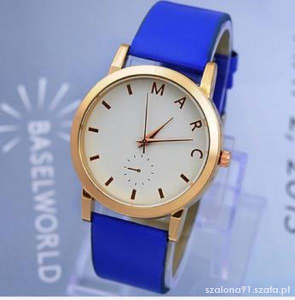 Marc by Marc Jacobs kobaltowy zegarek
