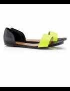Sandały neon h&m hm