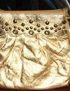 Torebka w złotym kolorze