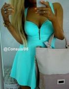 MINT gorsetowa sukienka NOWA HIT xs s m