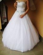 suknia ślubna księżniczka 36 38