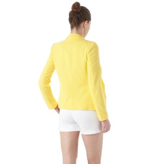 Żółty żakiet PROMOD