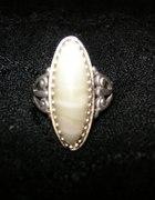 Srebrny rosyjski pierścionek