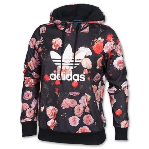 adidas bluza w kwiaty