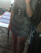 panterkowa sukienka...