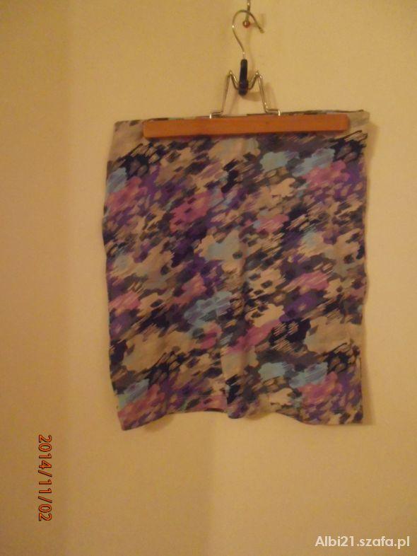 Spódnice Spódnica bandage fioletowo różowa