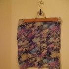 Spódnica bandage fioletowo różowa