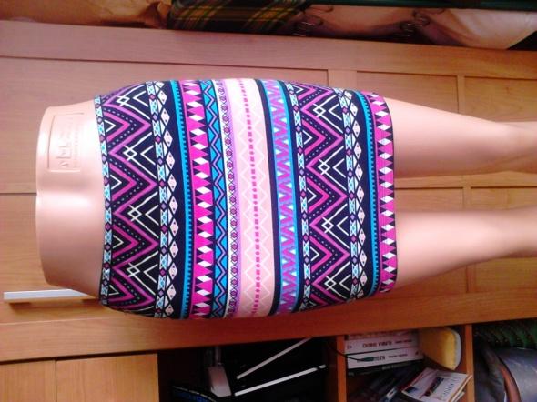 Spódnice spódnica w azteckie wzzory