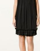 Sukienka Zara czarna Nowa rozm S