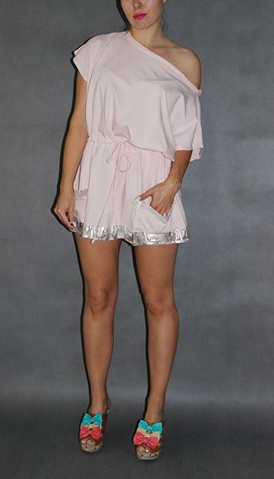 Codzienne sukienka różowa