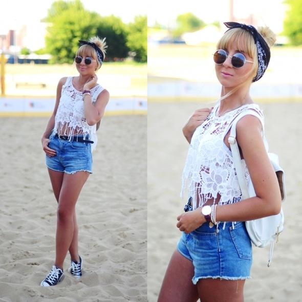 Blogerek Lace top