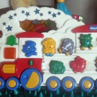 Chicco grający pociąg interaktywny odgłosy