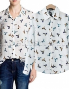 Koszula W Ptaki Mohito