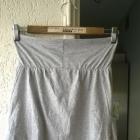 Szara nowa dresowa spódnica mini Denim CO S