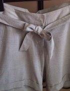 Spodenki krótkie Vero moda szare eleganckie