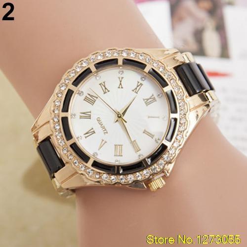 Nowy zegarek czarno zloty