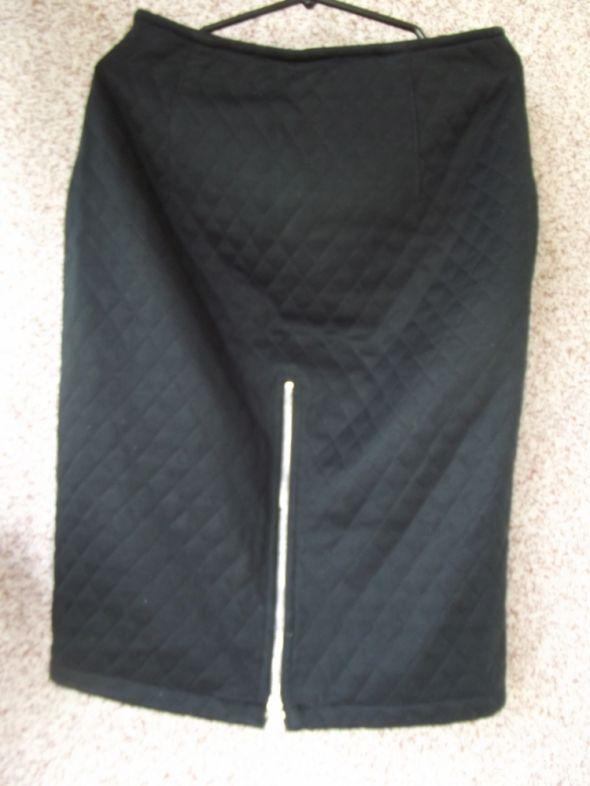 Spódnice Pikowana spodnica ZIP 38