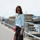 Super modna spódnica z frędzlami rozmiar XS