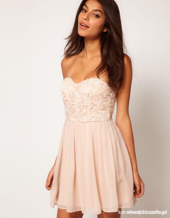 844225618a sukienka na wesele sukienka asos sukinki w Suknie i sukienki - Szafa.pl