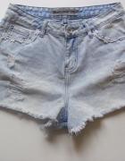 Spodenki marmurkowe jeans