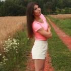 crop top w kolorze neon pink