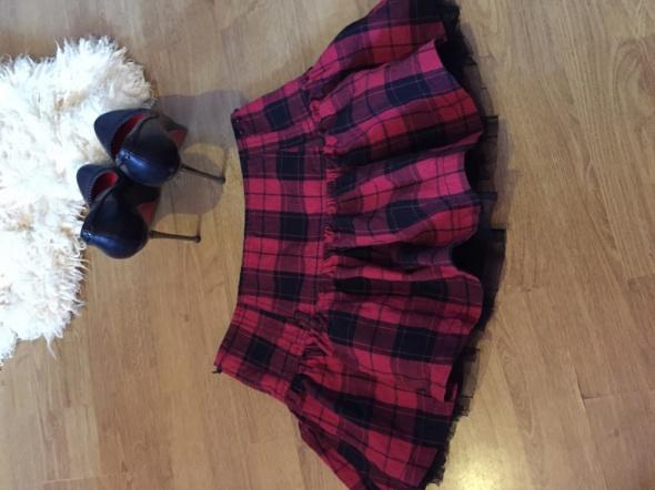 Spódnice Czerwona krata w kratkę hot spódniczka Wow
