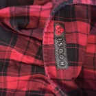 Czerwona krata w kratkę hot spódniczka Wow