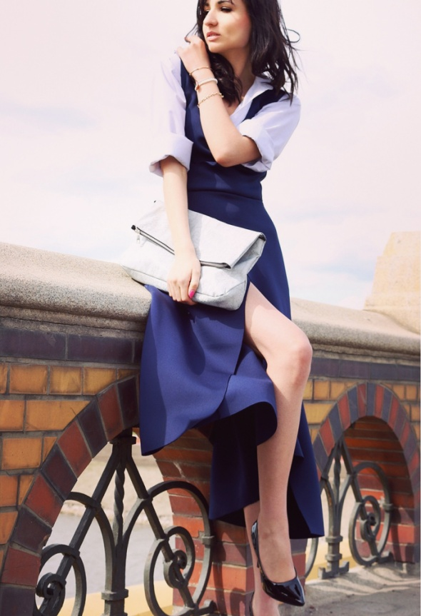Blogerek Blue dress
