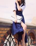 Blue dress...