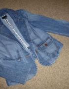 marynarka jeans h&m...