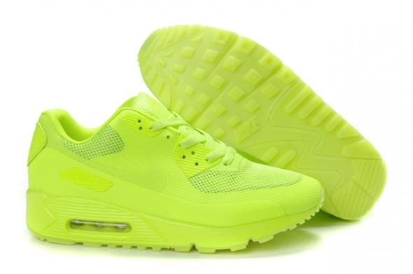 Nike Air Max 90 hyperfuse neon żółty 36 do 40 w Sportowe