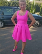 Różowa Neonkowa bo Kocham Neony