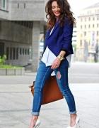 Kobalt biel i jeans sexy...