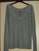BERSHKA szary sweterek 40