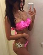 bikini różowe