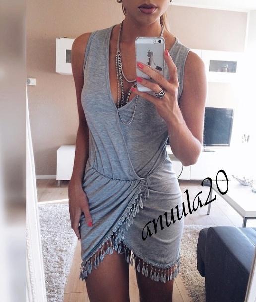 Mój styl Seksi sukienka lato