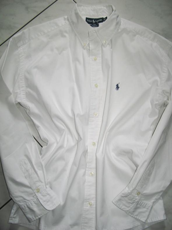 RALPH LAUREN biała koszula roz L w Koszule Szafa.pl  slqEB