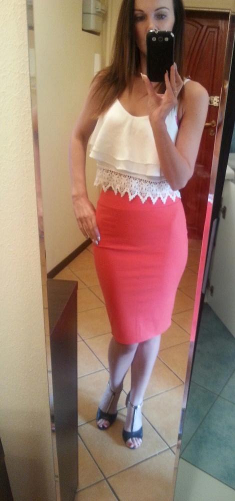 Spódnice śliczna ołówkowa spódnica new yorker