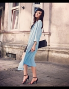 Blue coat...