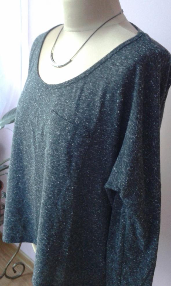 bluzka szary melanż
