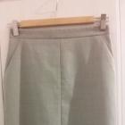 Szara spódnica ołówkowa