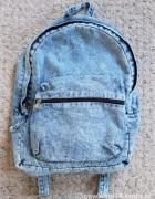 jeansowy plecak primark...